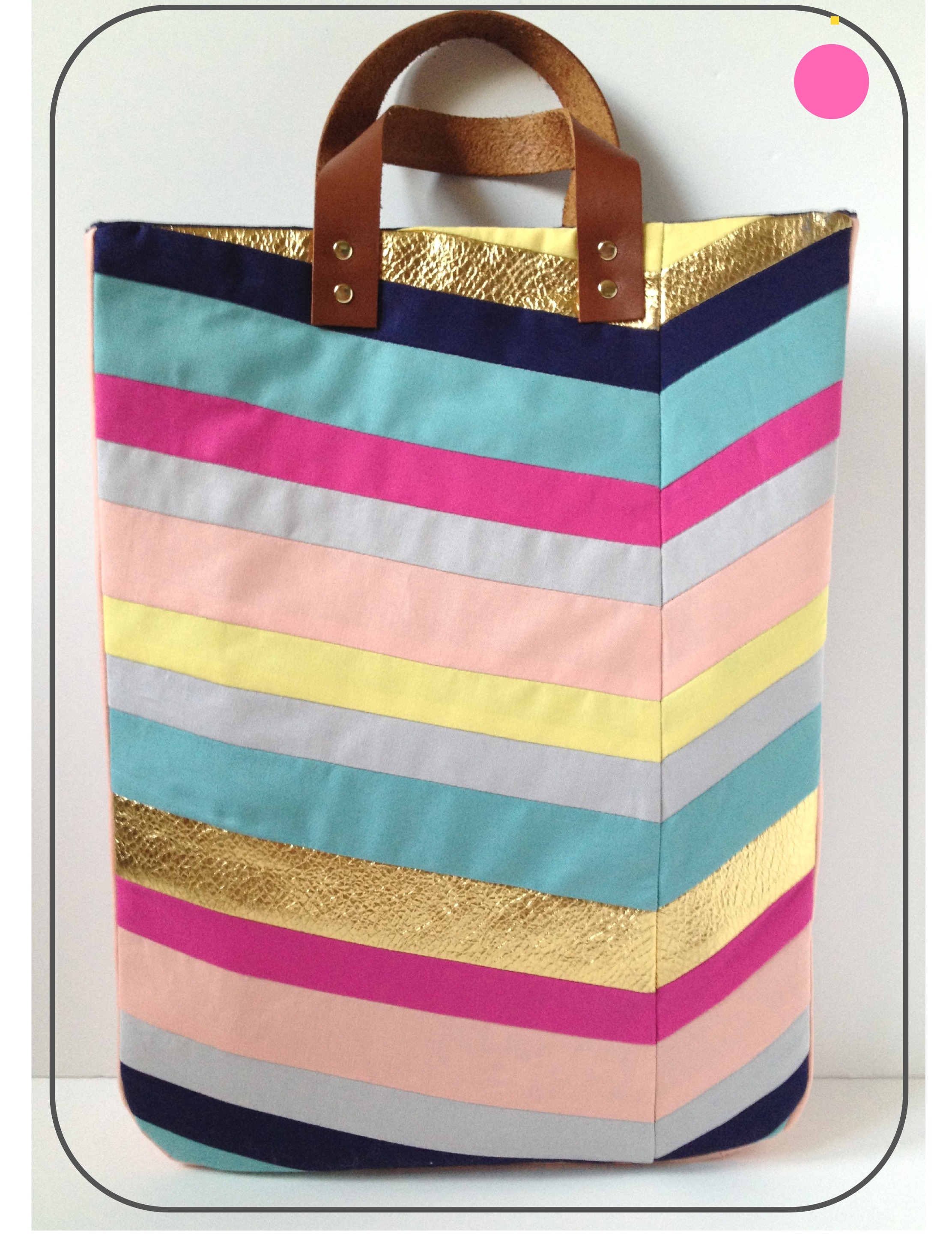 Chevron Tote Bag DIY