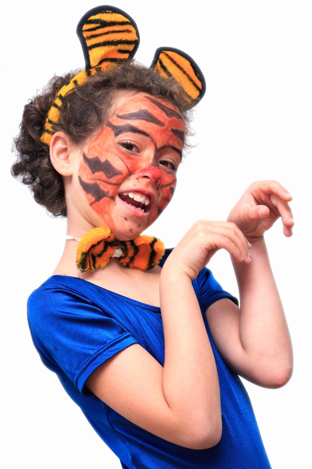 Costumes for girls ferocious tiger