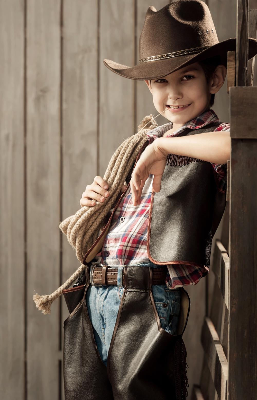 Cowboy halloween costume for little kids