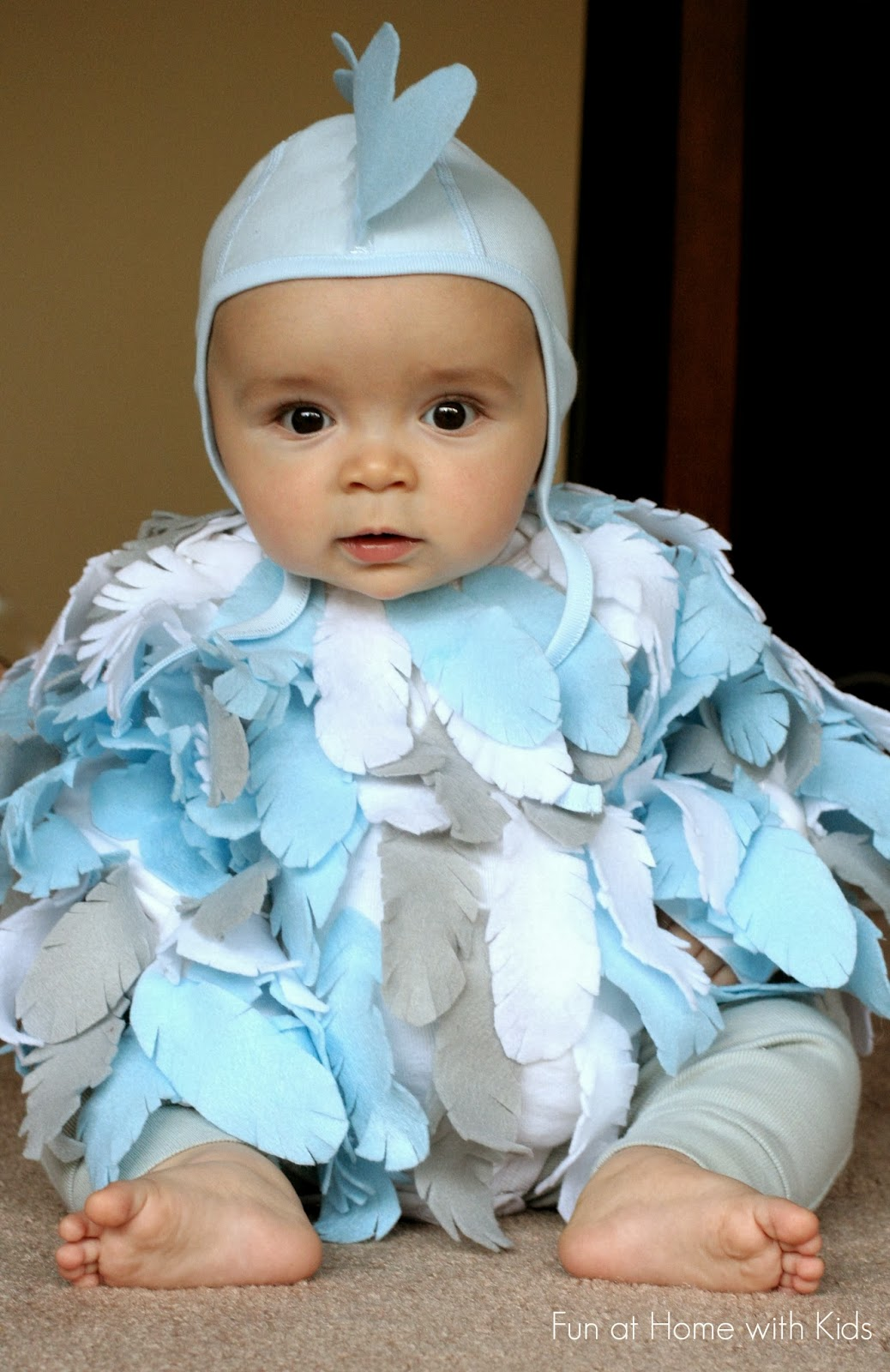 diy baby chicken halloween costume