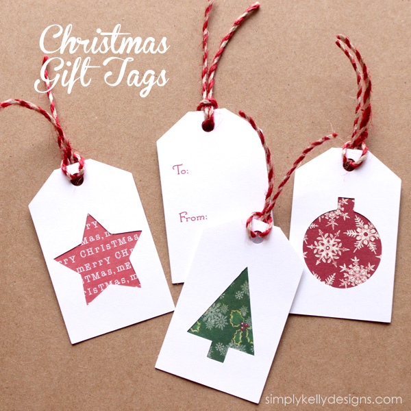 34 festive and fun diy christmas gift tags for Christmas present homemade gift ideas