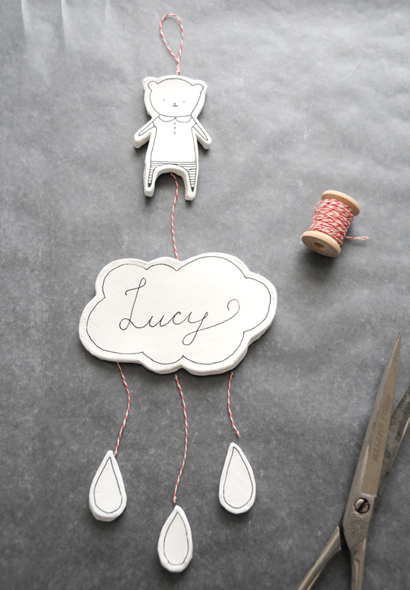 DIY Clay Baby Mobile