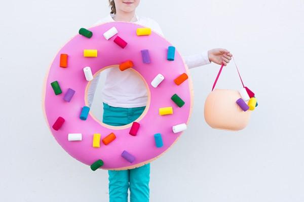Cute Halloween Costume for Girls - Donut