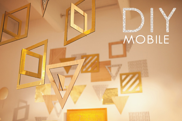 DIY-geometric-mobile