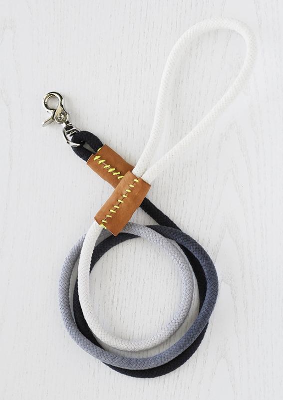 DIY ombre leash