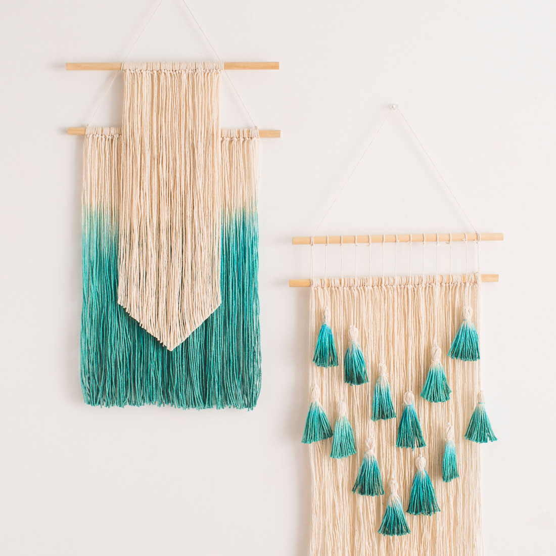 14 fun fringe art diy projects to explore dip dye fridge amipublicfo Image collections