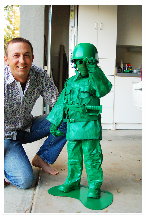 DIy Army Man Costume DIY