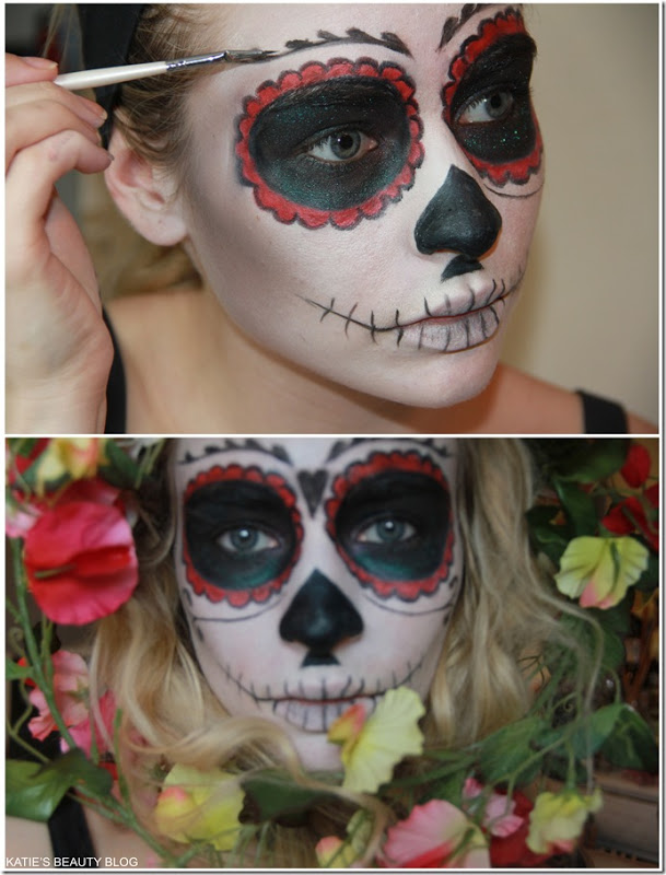 Dayof the Dead Halloween makeup