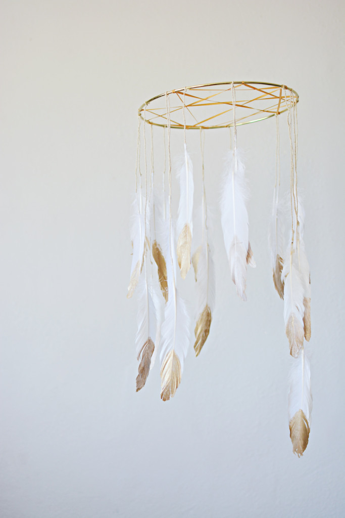 Dreamcatcher DIY Baby Mobile