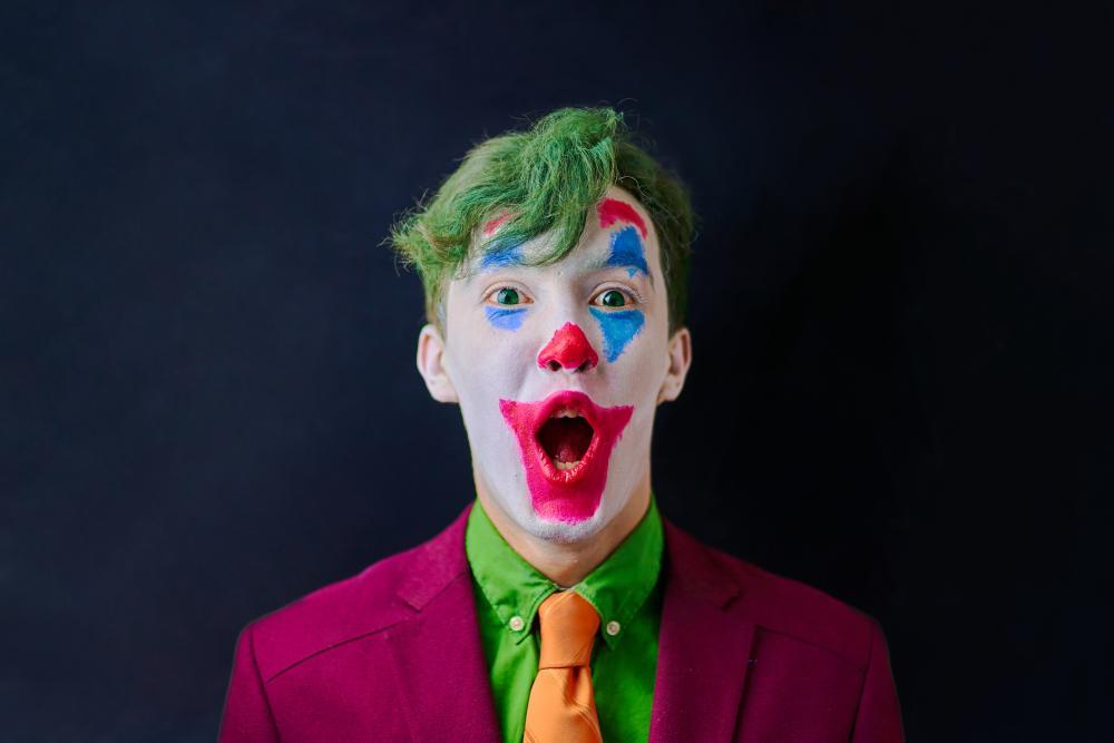 Easy clown halloween face makeup