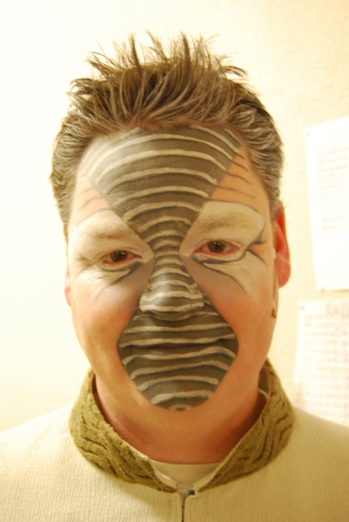 Elephant Halloween Makeup