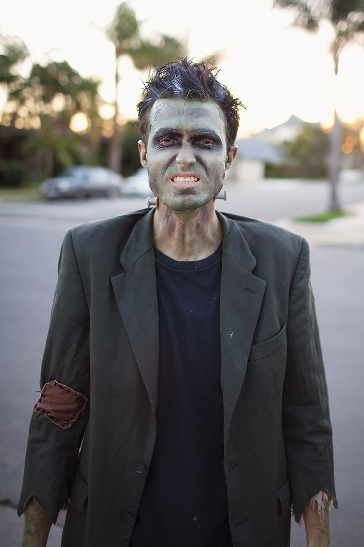 Frankenstein Makeup DIY