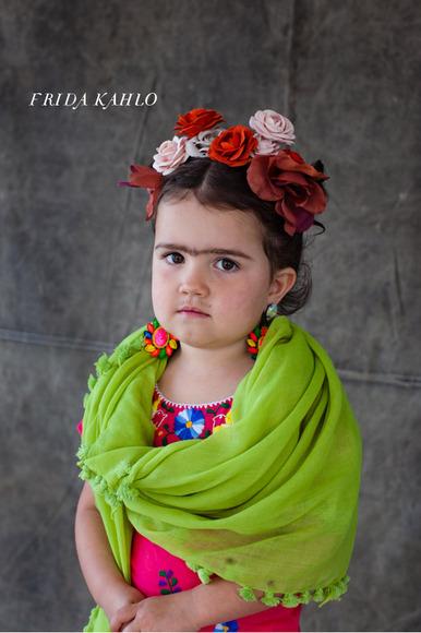 Costumes for Girls - Frida Kahlo