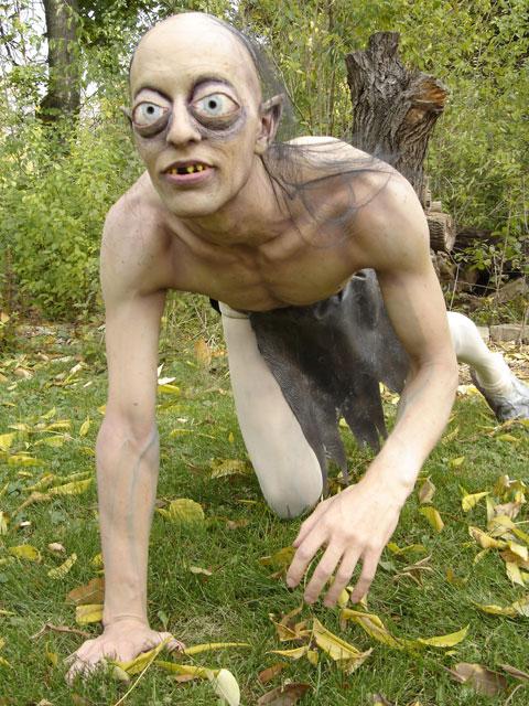 Gollum Makeup Halloween