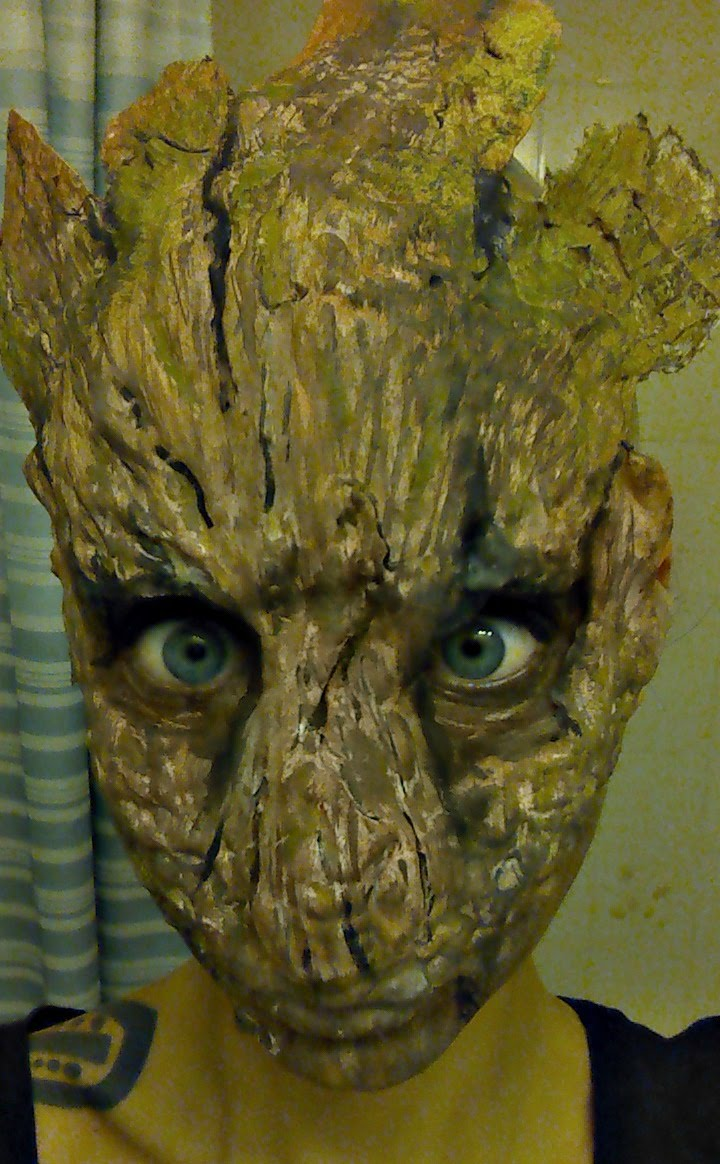 Groot Halloween Makeup