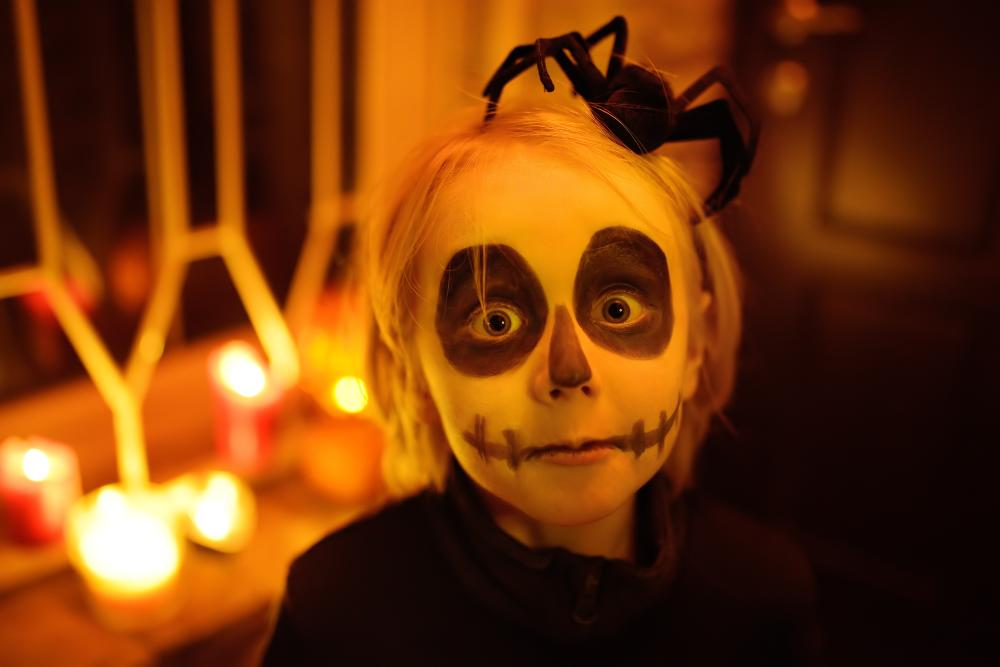 Halloween costume ghoul