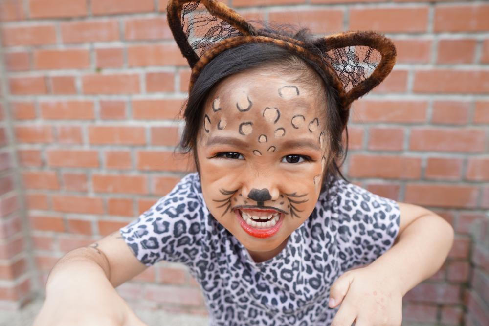 Halloween costume ideas for girls cheetah