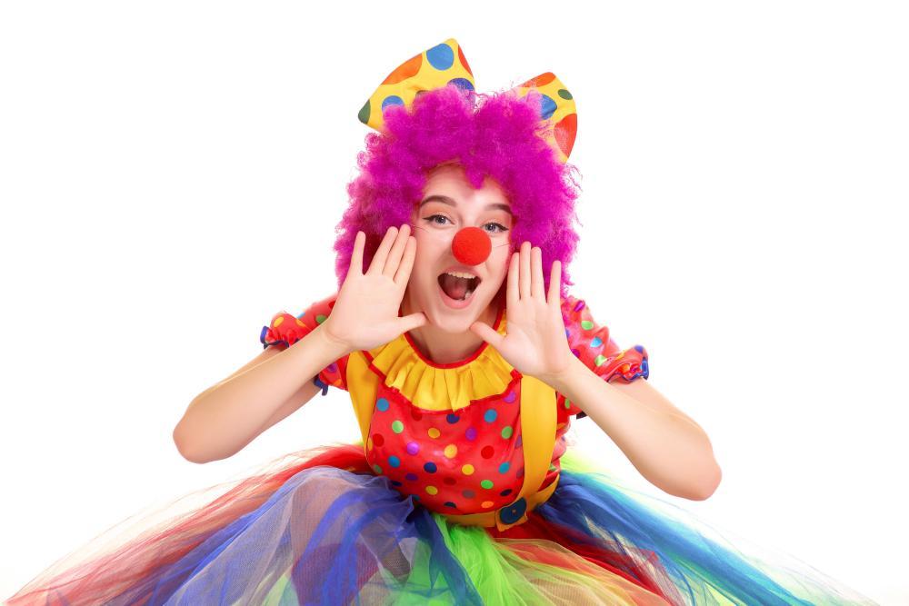 Halloween costumes for girls clown