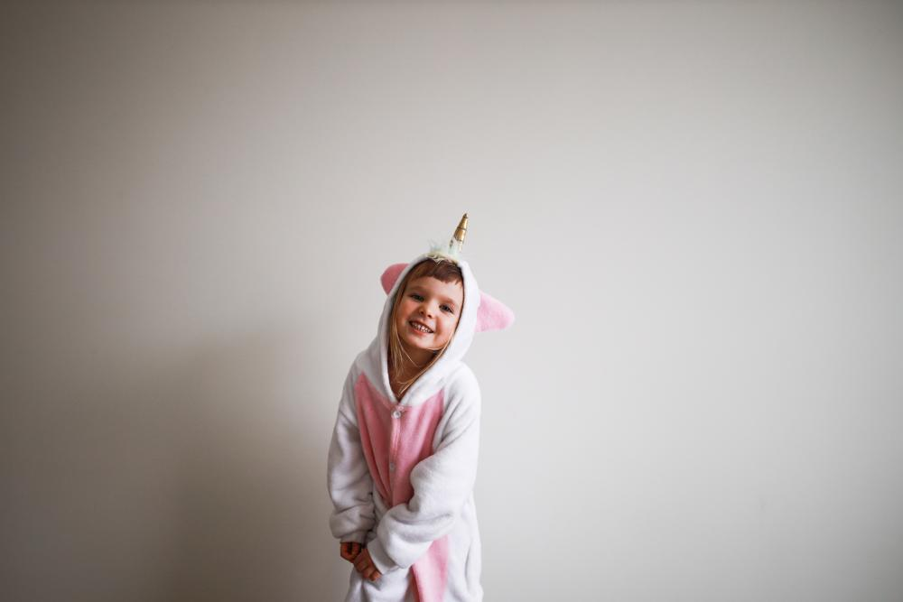 Halloween costumes for kids girl unicorn