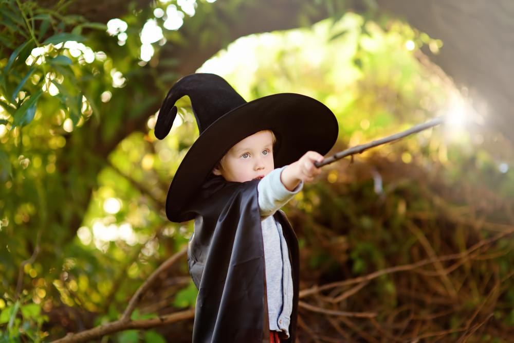 Halloween costumes for little boys magician