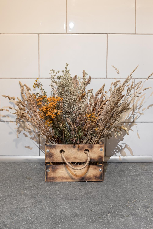 Homemade craft box thanksgiving decoration ideas