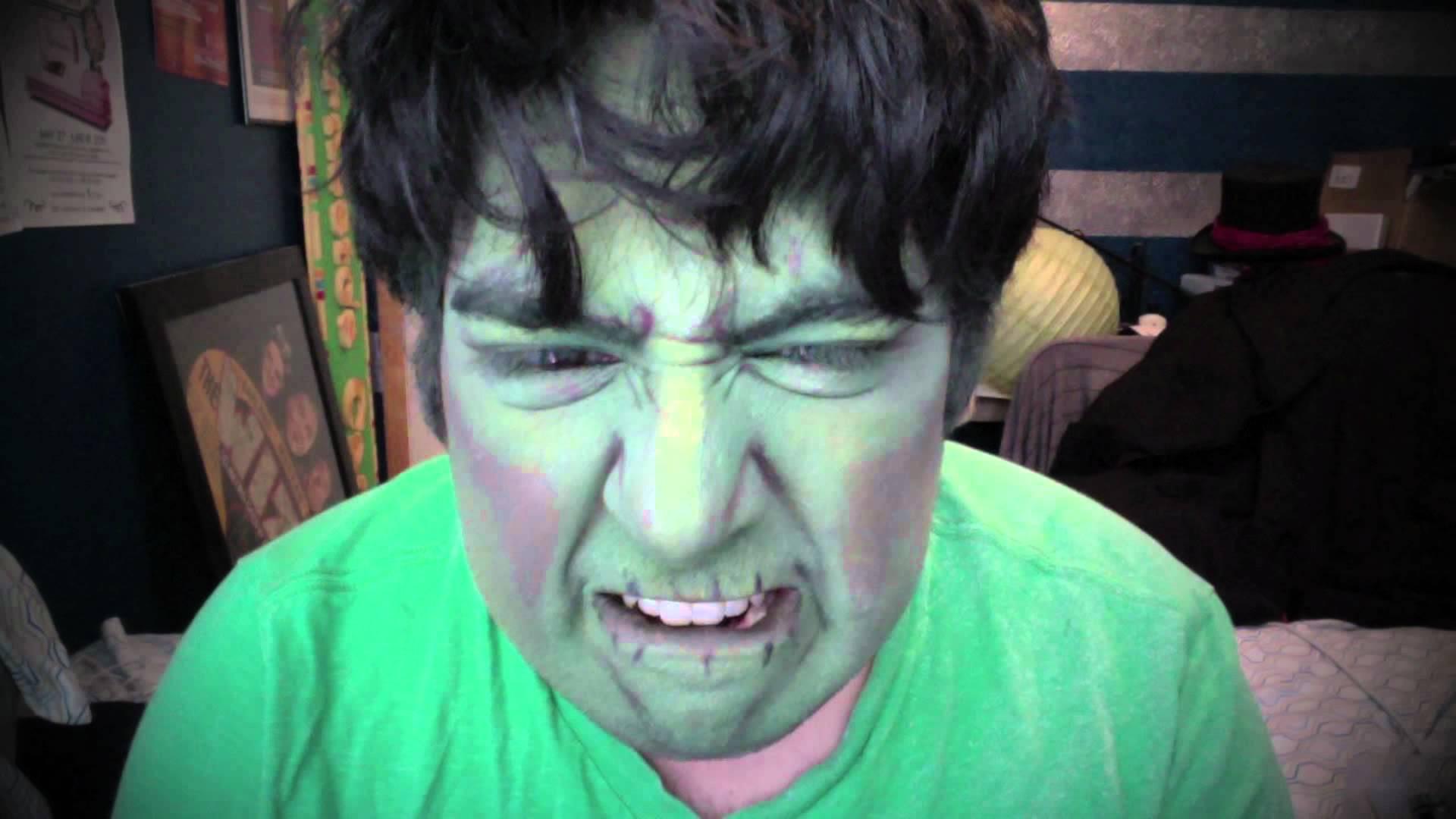 Hulk Halloween Makeup