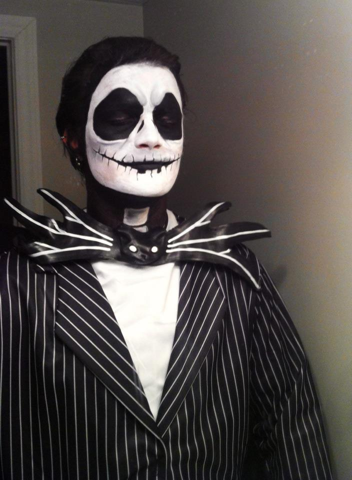 Halloween Makeup for Man: Jack Skellington