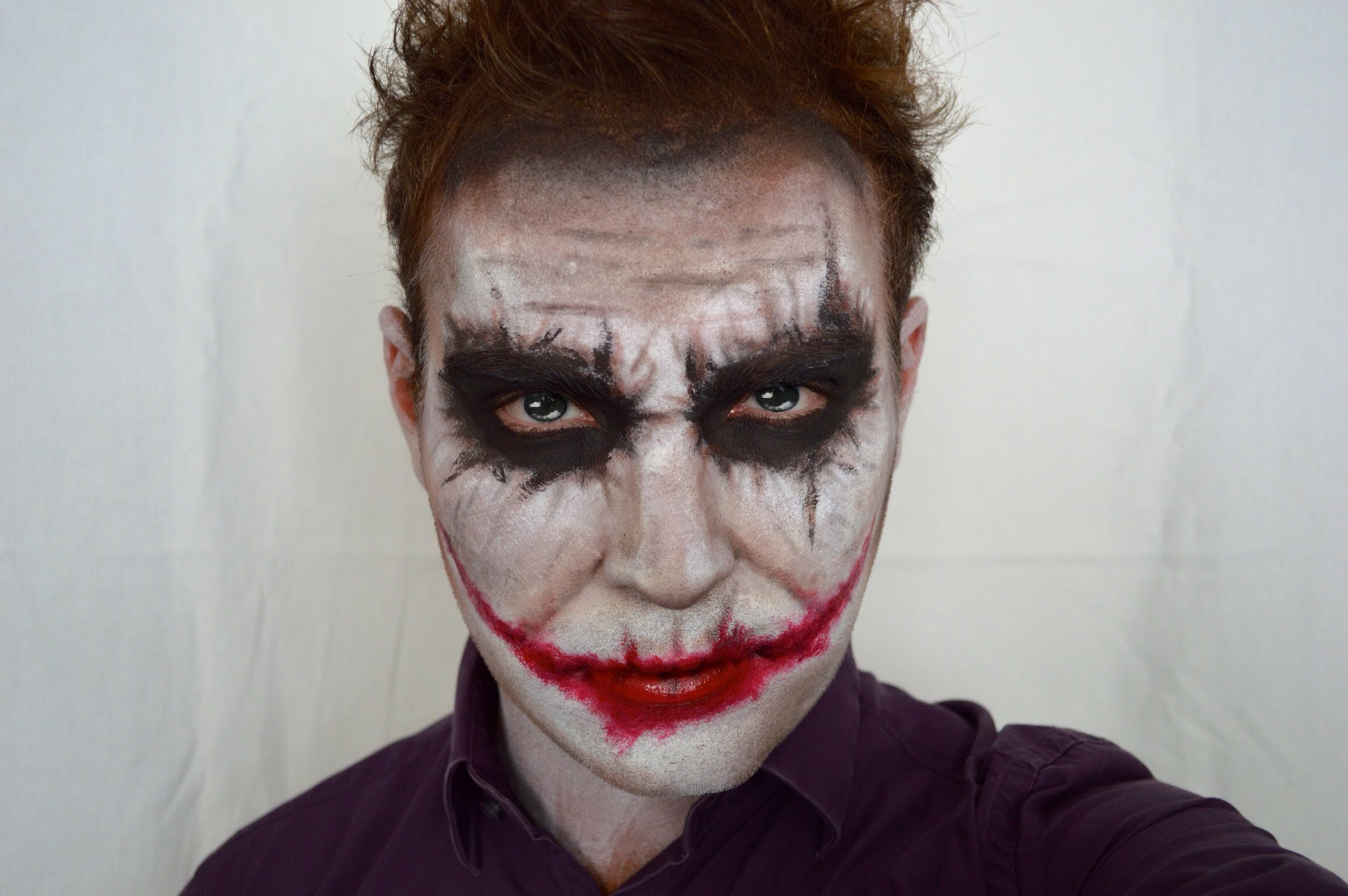 Joker DIY makeup