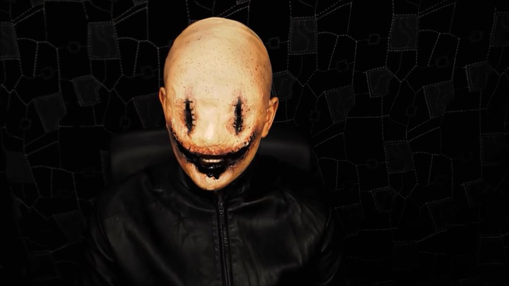 Killer face scary halloween makeup