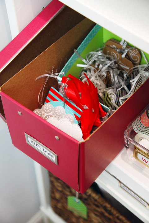Labeled Boxes Gift Wrapping