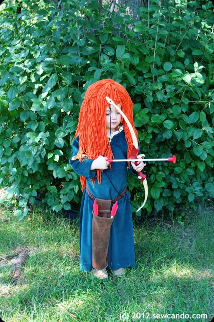 Halloween Costumes for Girls - Princess Merida