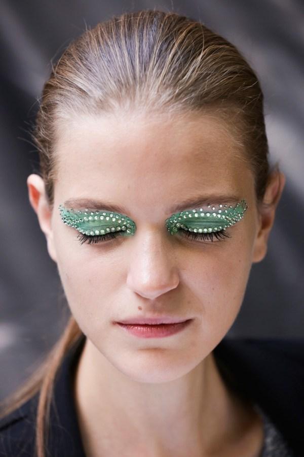 Mermaid Halloween Eye Makeup
