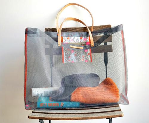 Mesh Bag Tote DIY