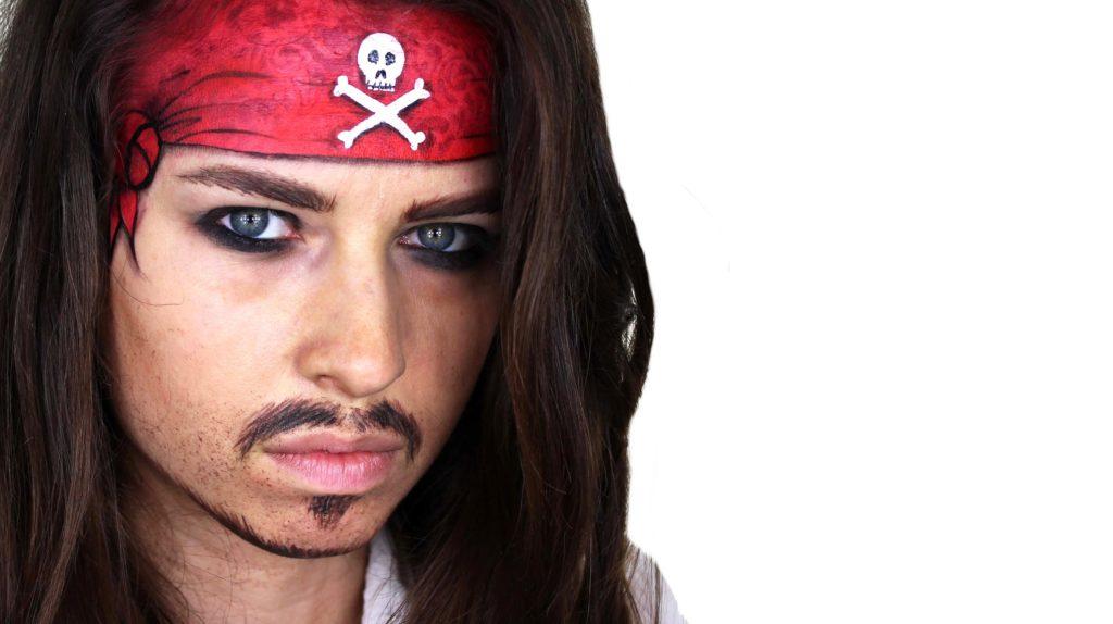 25 halloween makeup ideas for men pireate makeup diy solutioingenieria Image collections