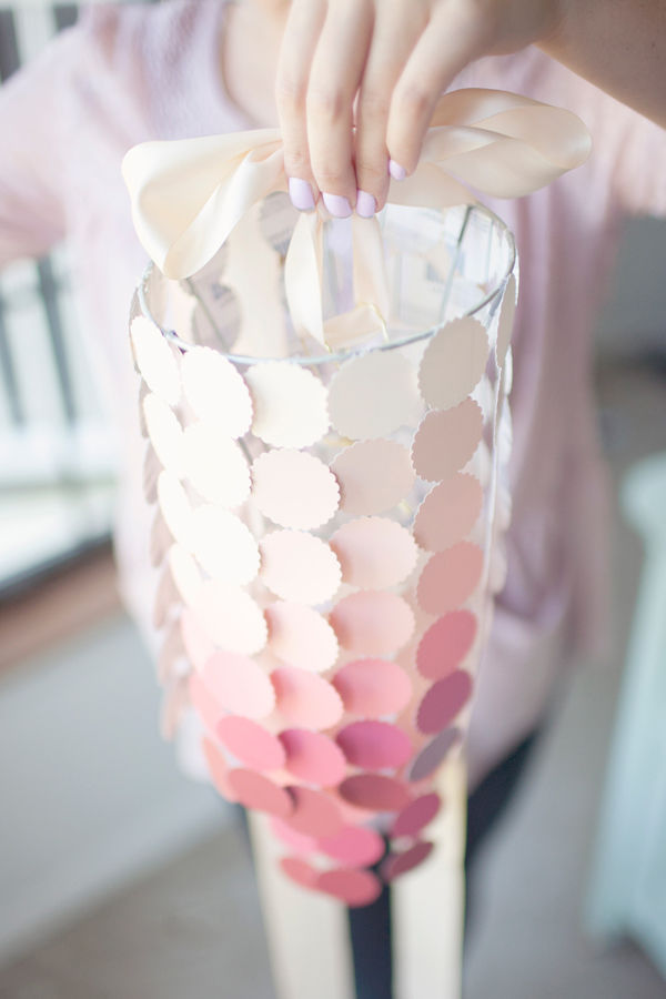 Paint Swatch Chandelier Mobile DIY