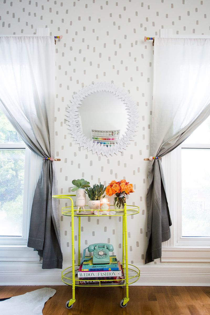 Patterned Wall DIY