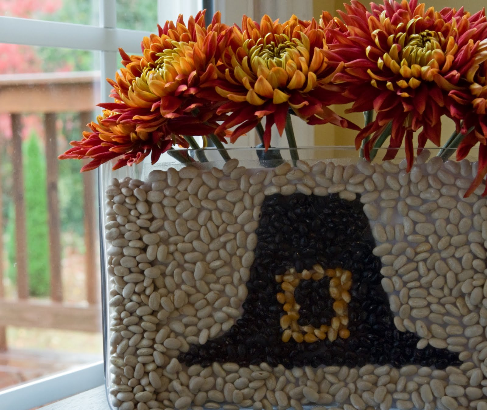 Pilgram Hat Thanksgiving Centerpiece DIY