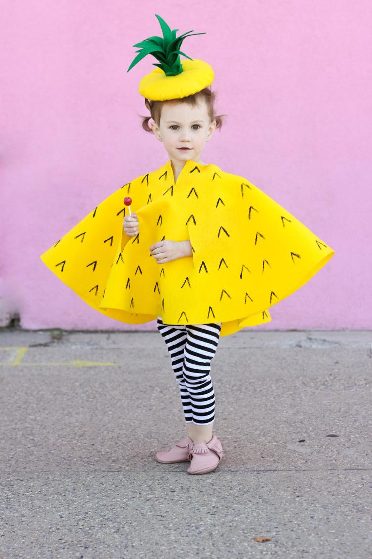 Cute Halloween Costume for Girls - Pineapple