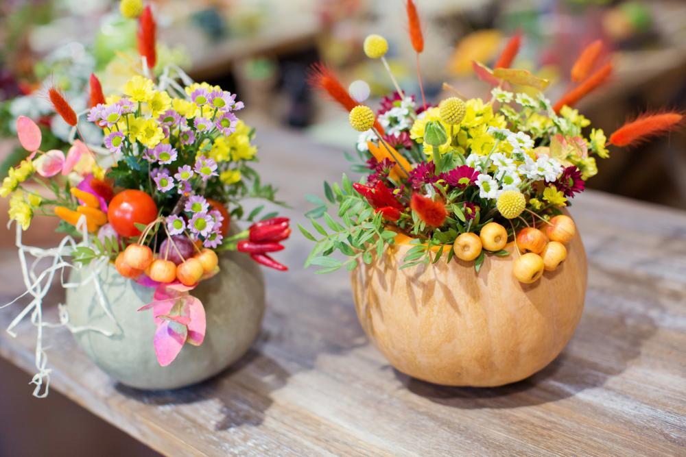 Pumpkin diy vase diy thanksgiving decorations