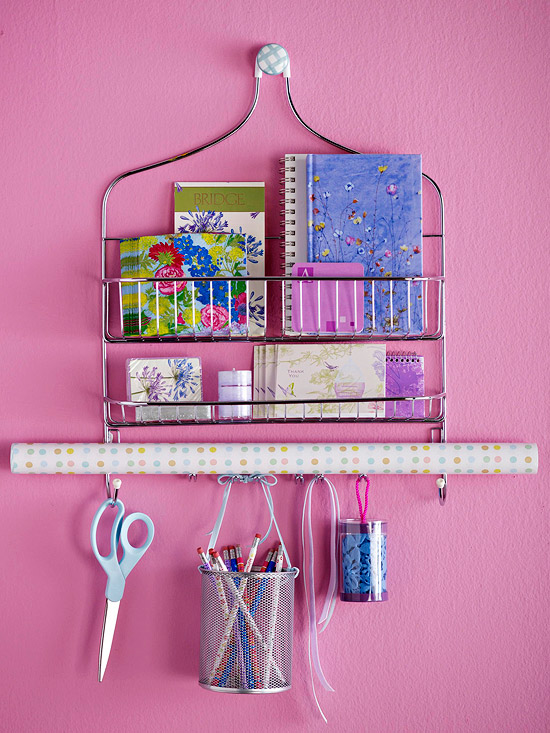 Shower Caddy Gift Wrapping