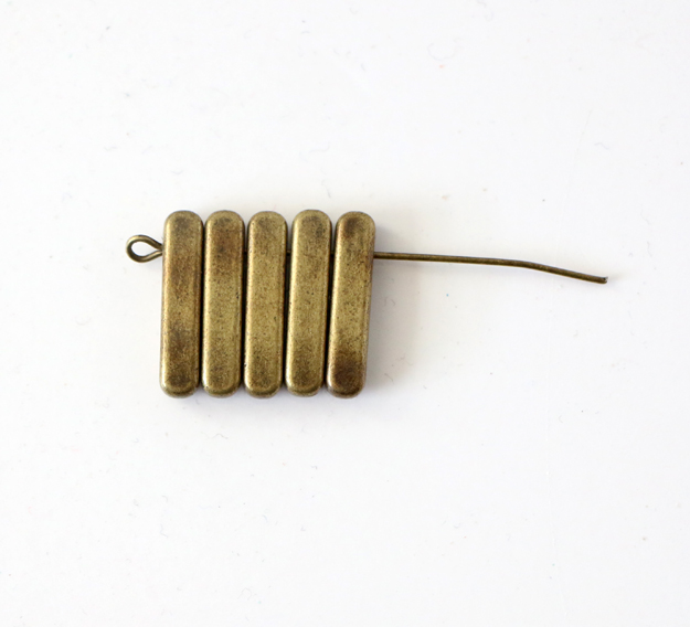 Simple DIY Brass Necklace - Step1