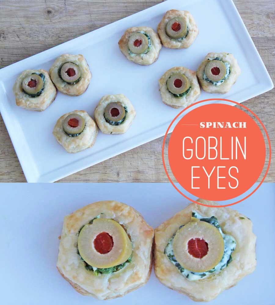 Spinach Goblin Eyes