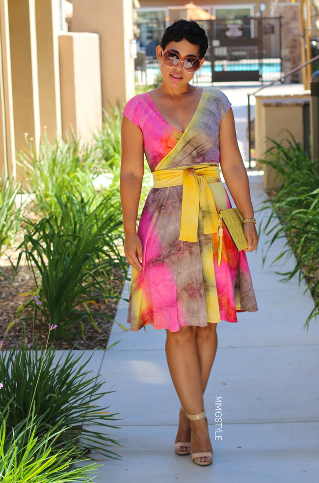 Tie Dye DIY Dress