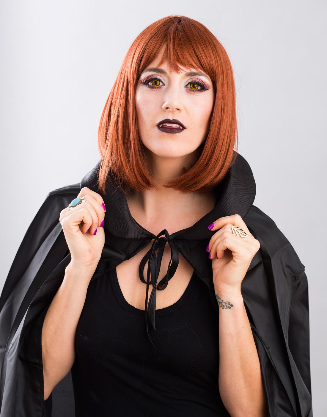 Vampire Makeup DIY
