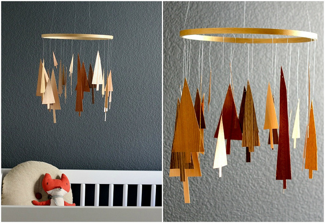 Veneer Tree DIY Mobile