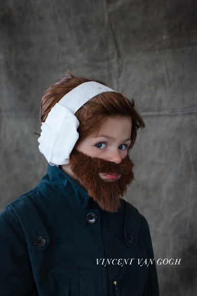 Vincent Van Gogh DIY Costume