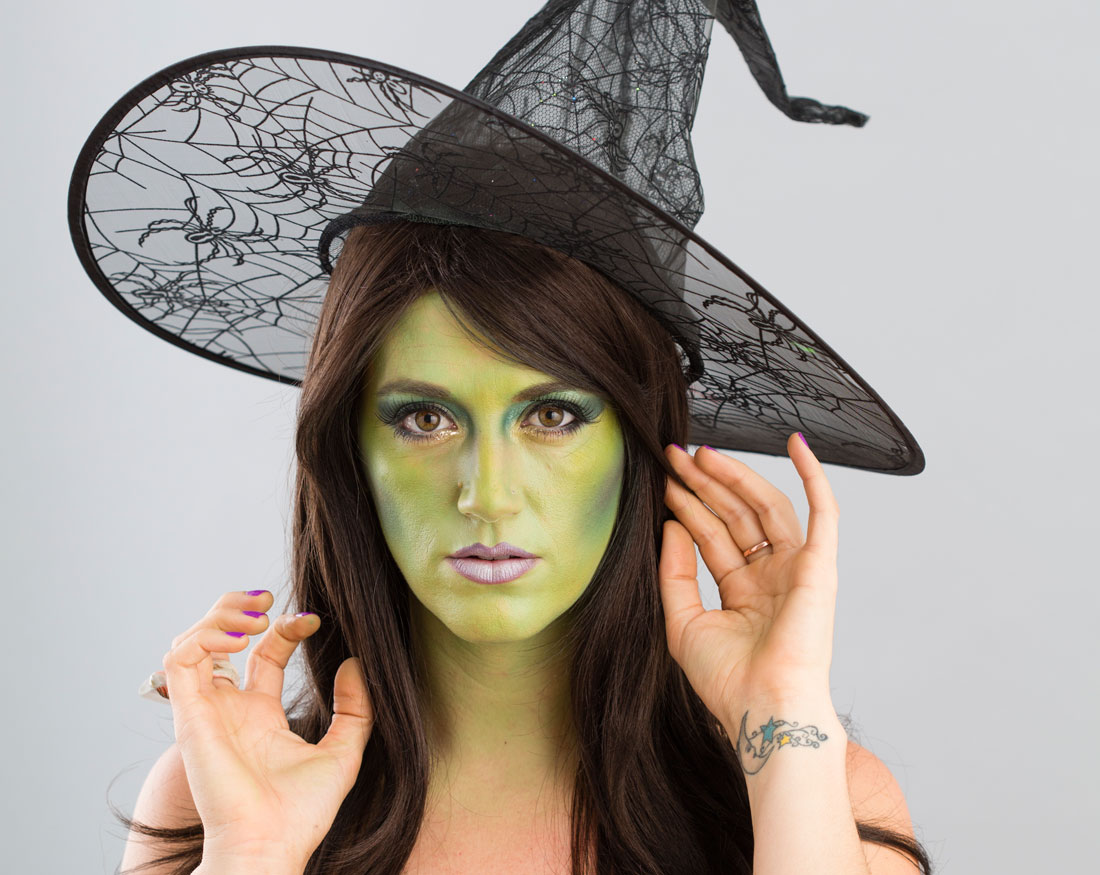 witch diy makeup