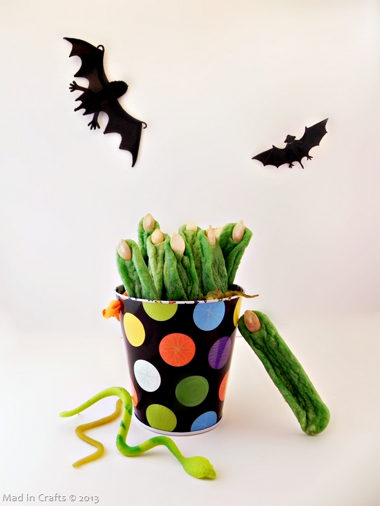 Witches' Fingers Cookies
