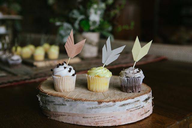 arrow cupcake topper diy