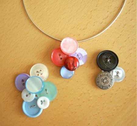 button pendant diy
